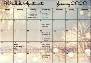 Our 2020 Calendar & Cliffhanger!