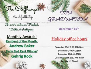 Our December Calendar & Cliffhanger!