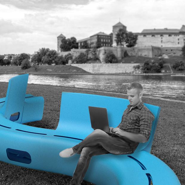 ławka dla Krakowa