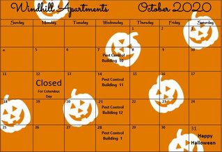 Our October Calendar & Cliffhanger!🎃