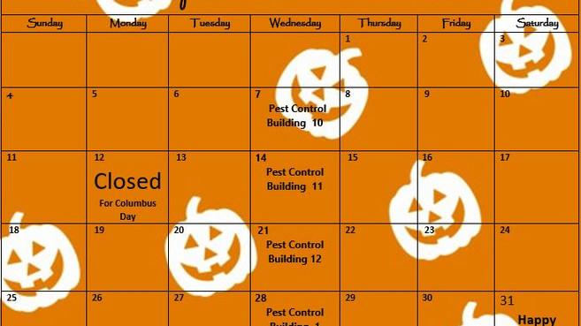 Our October Calendar & Cliffhanger!🎃