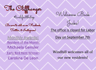 Our September Calendar & Cliffhanger!🤩💜
