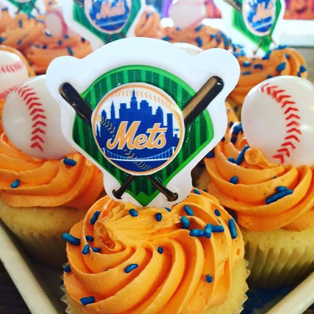 Come pick up your World Series cupcakes today