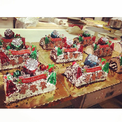Add our #holiday Yule Log to your #dessert table this year