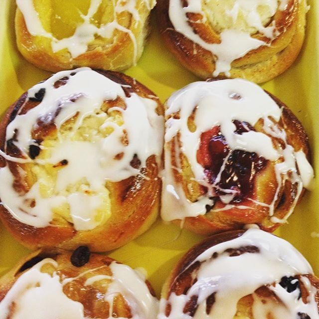 Suns out, buns out! #njbakery #fruitbuns #njeats #yum #pastries #homemade #njfood