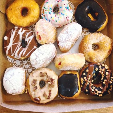 Sunday Funday! What's in your box_ #donuts #njeats #homemade #njfood #yum #bakery #pastries