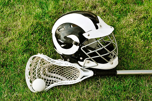 Girls Lacrosse Stick & Mask