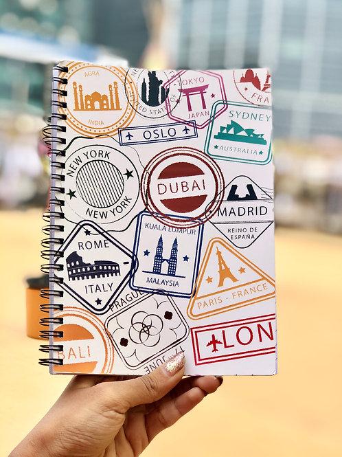 Globetrotter Spiral Notebook