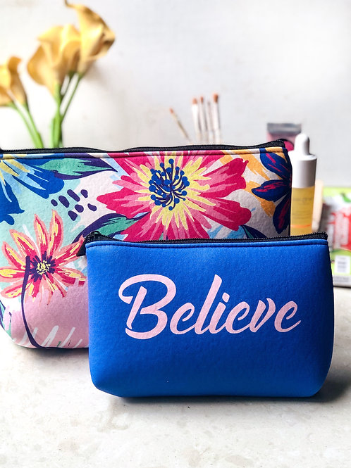 Believe - Essential Pouch Set