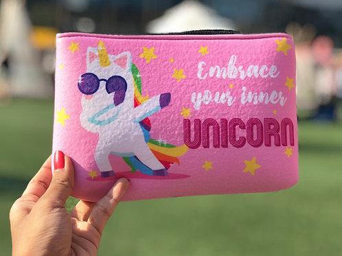 Unicorn- Makeup Pouch