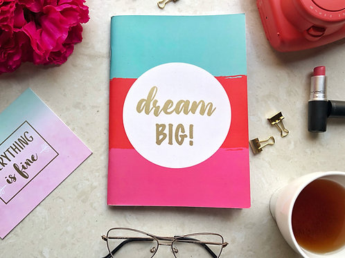 Dream Big Binded Notebook