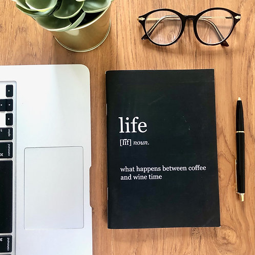 Life Binded Notebook