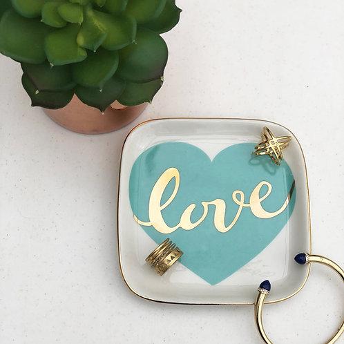 Blue Love - Trinket Dish