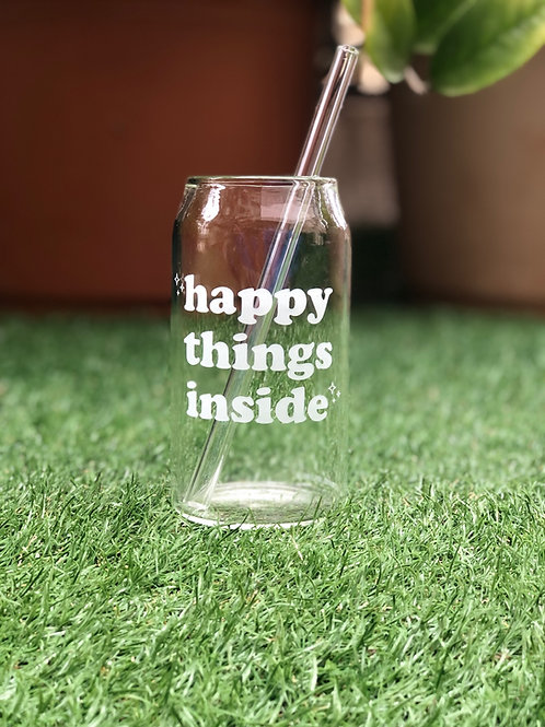 Happy Things Inside - Can Glass
