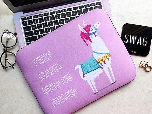 Llama Drama- Laptop Sleeve