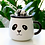 Thumbnail: Panda Coffee Mug With Lid And Spoon
