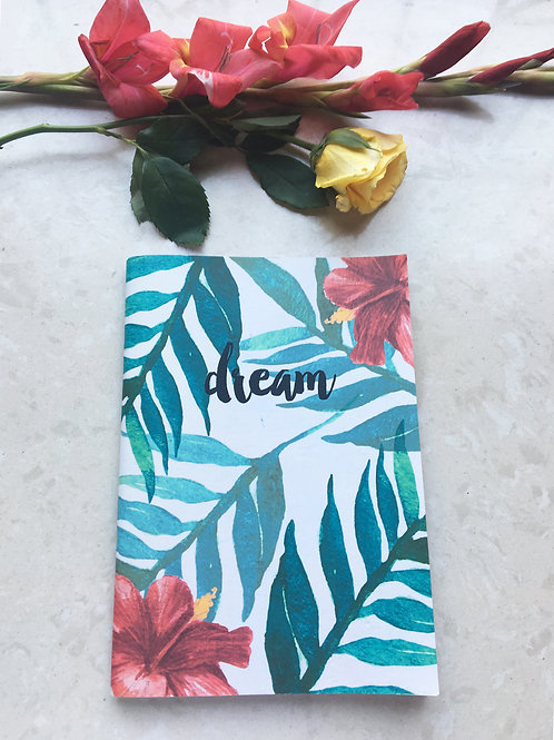 Tropical Dream - Binded Notebook