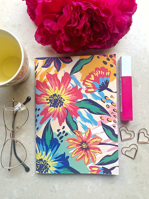 Painted Nature Binded Notebook