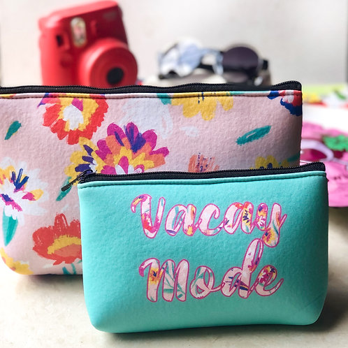 Vacay Mode -Essential Pouch Set
