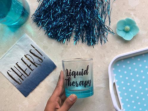 Liquid Therapy Blue Glass