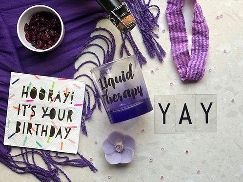 Liquid Therapy Purple Glass