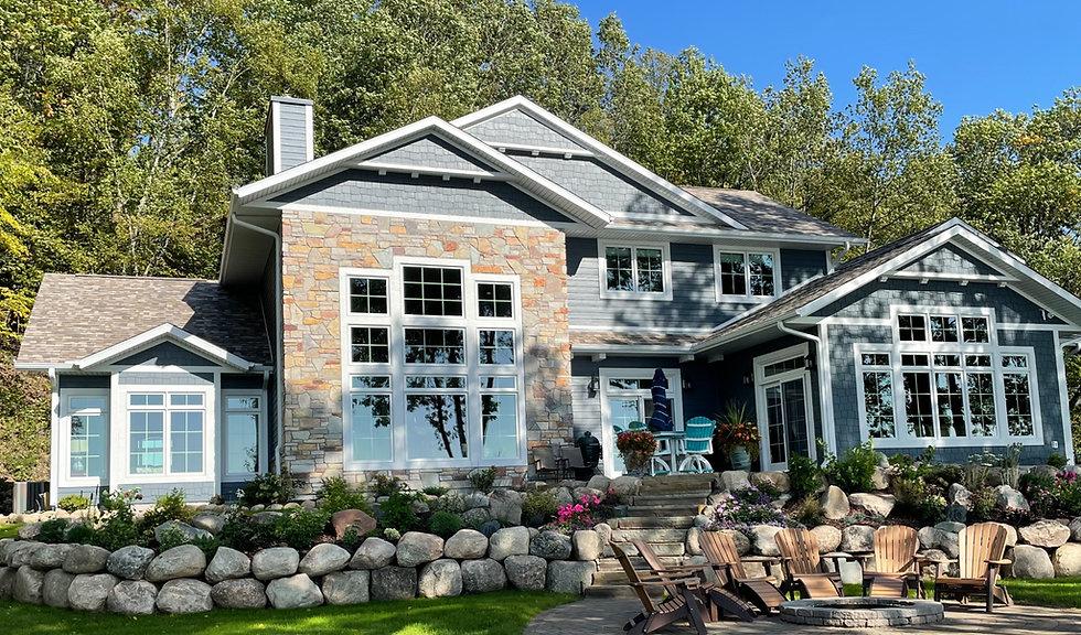 Gull Lake Modern Cottage
