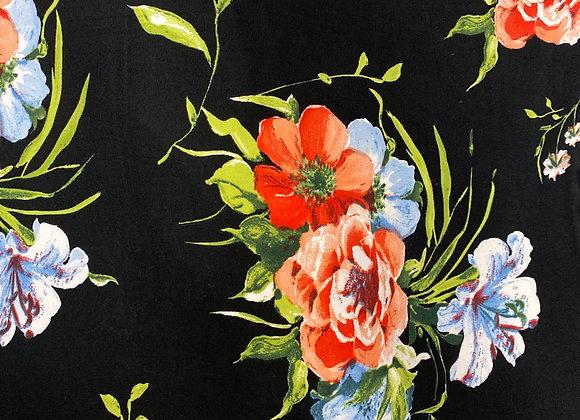 Large Floral- Bolero two side brush