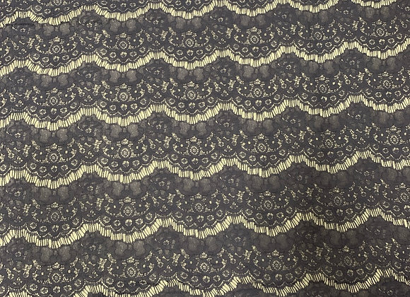 Navy Blue Spender Lace