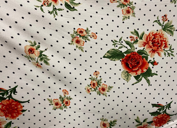 Floral with star- Bolero two side brush