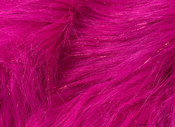 Faux Fur With Lurax Pink