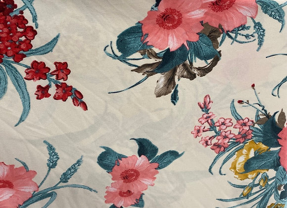 Floral Print Lycra