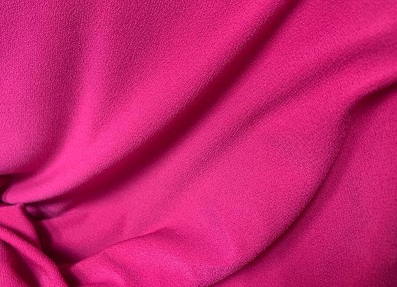 Pink Moss Crepe 96% Poly 4% Span