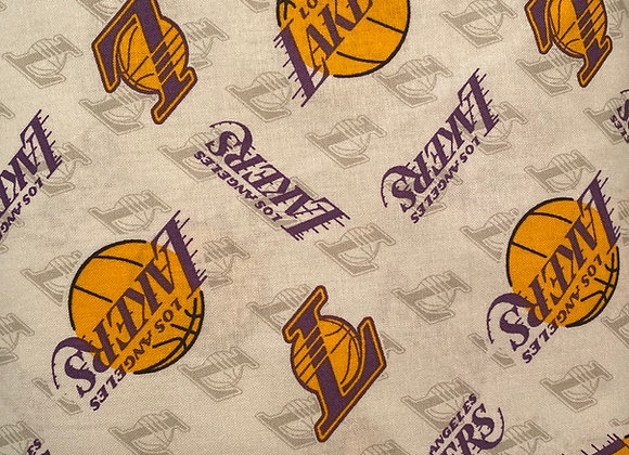 Lakers Cotton Fabric