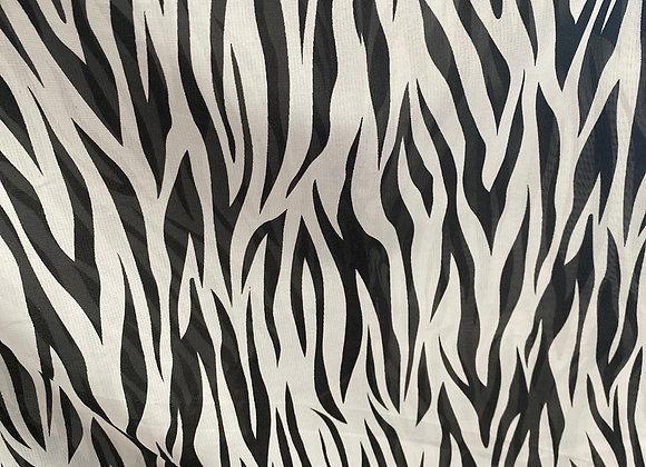 Zebra Chiffon