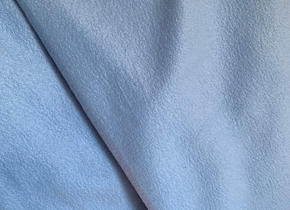 Baby Blue Anti Pill Fleece Fabric Solids