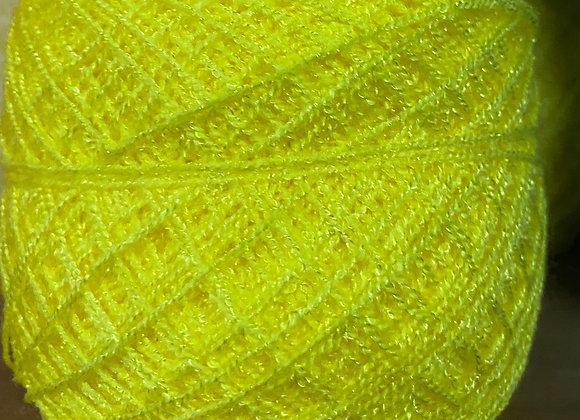 Bright Yellow Crystal Yarn