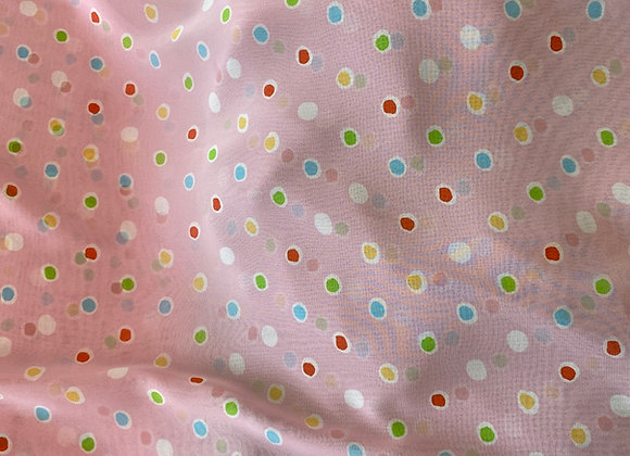 Cute dots chiffon