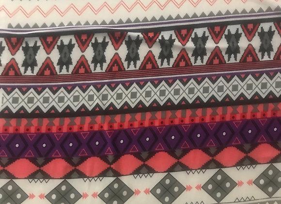 Striped patterned Lycra Stretch