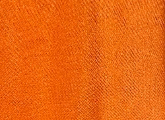 Bright Orange Tulle