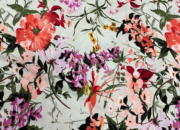 Flower Print Lycra