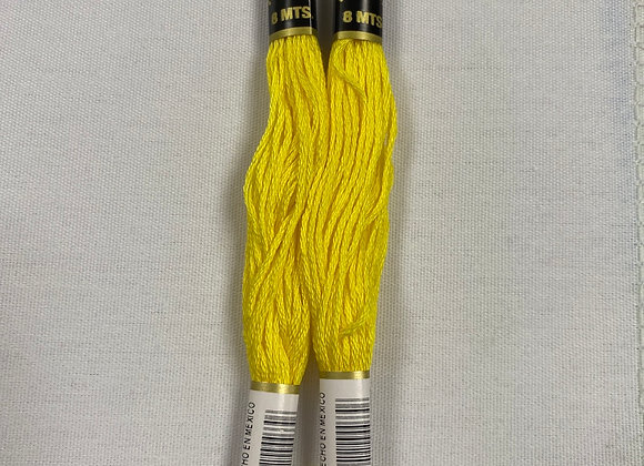 Bright Yellow Embroidery Floss (661)
