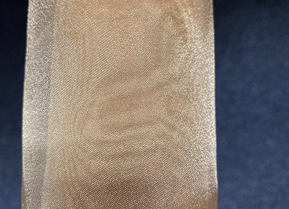 Gold Crystal Sheer Organza