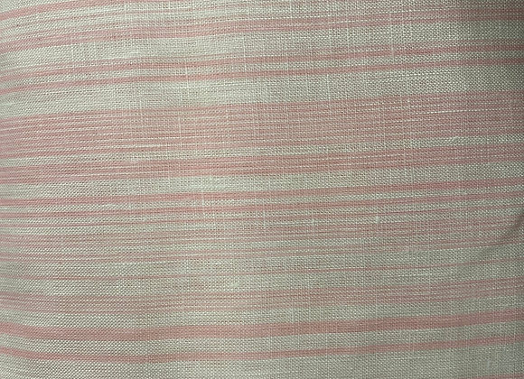 Pink and White Linen