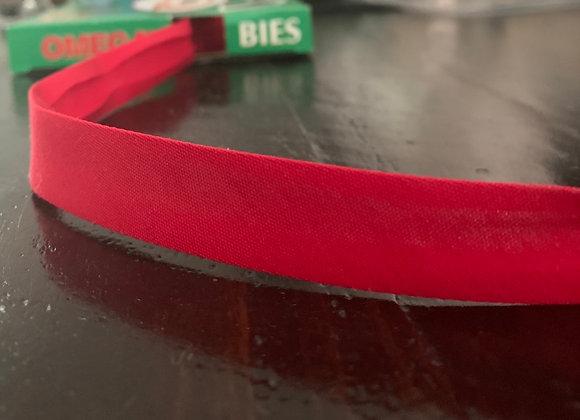 Red Cotton Bias Tape