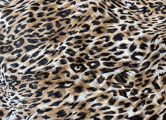 Leopard Chiffon