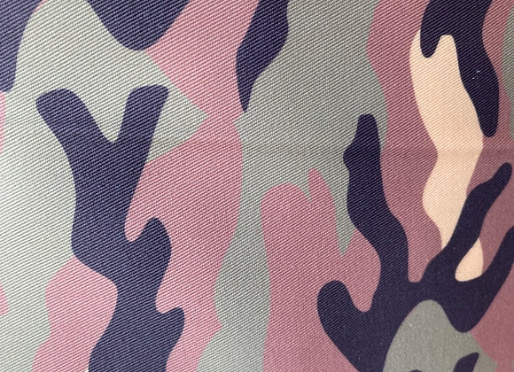 Woven Cotton Twill Army / Camouflage