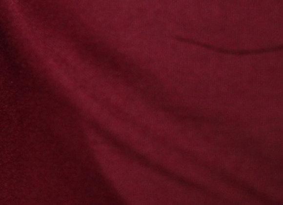 Burgundy Poly Cotton