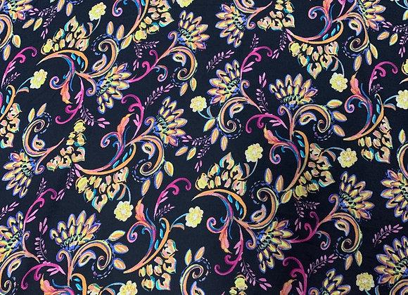 Floral Chiffon 97% Polyester 3%Spandex