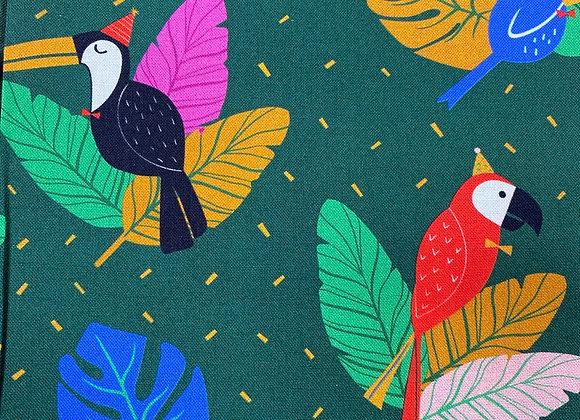 Tropical Birds Cotton