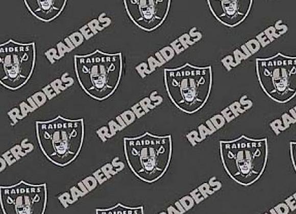 Black Raiders Cotton Fabric